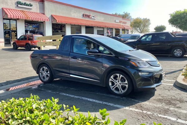 Chevrolet Bolt News Turn A Chevy Bolt Into A Pickup For $20K